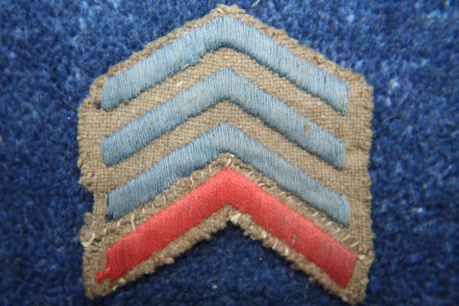 Original WW1 British Army Overseas stripes