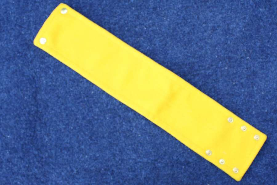 WW1 British Army Instructors yellow armband / Brassard