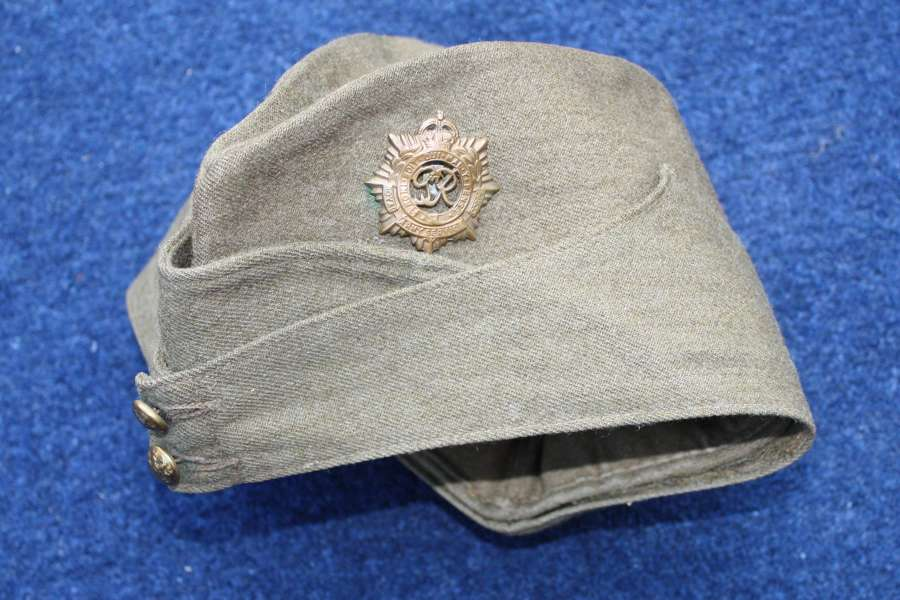1942 Dated British Army Khaki Side Cap