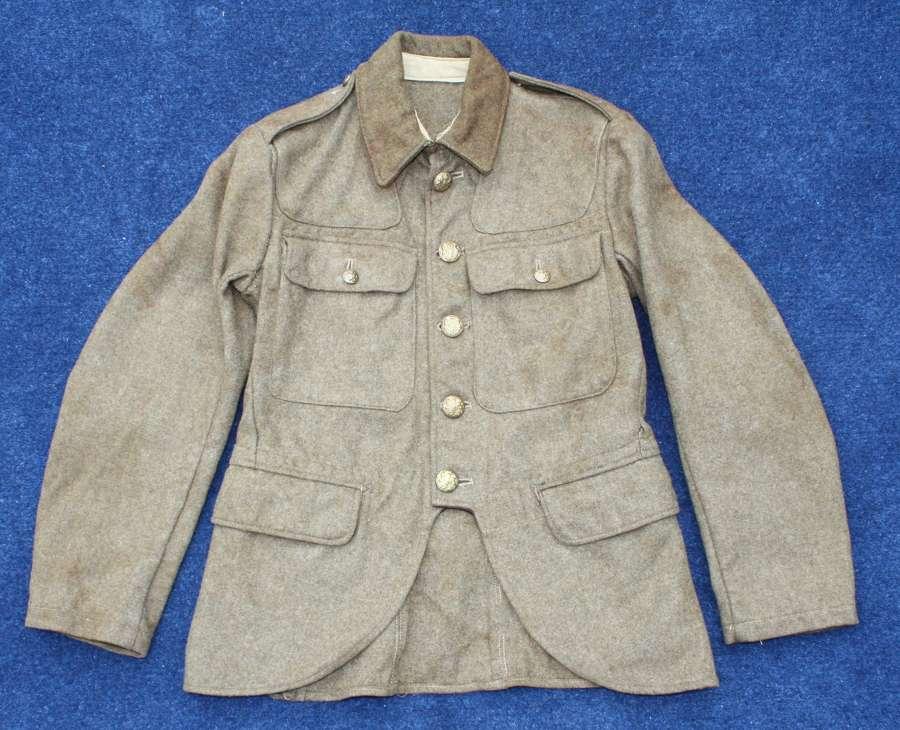 SCOTTISH 1922 HIGHLAND PATTERN SERVICE DRESS KHAKI TUNIC