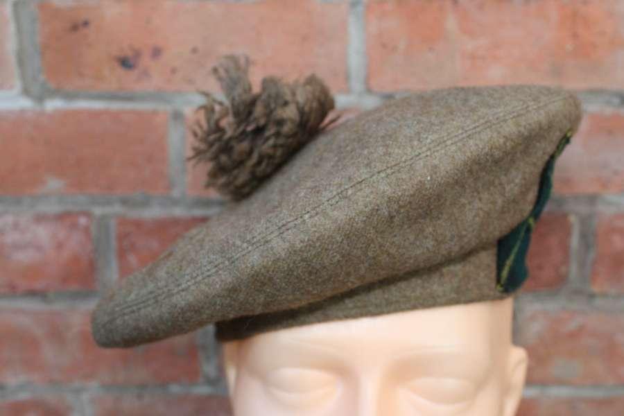 WW2 TAM 'O SHANTER / GENERAL SERVICE CAP GORDON HIGHLANDERS