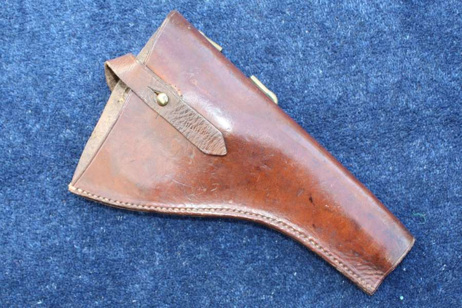 1908 Pattern British Army Leather Revolver Holster Dated 1916