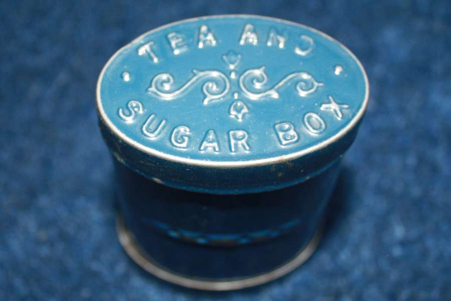 BOER WAR / WW1 BRITISH TEA & SUGAR TIN