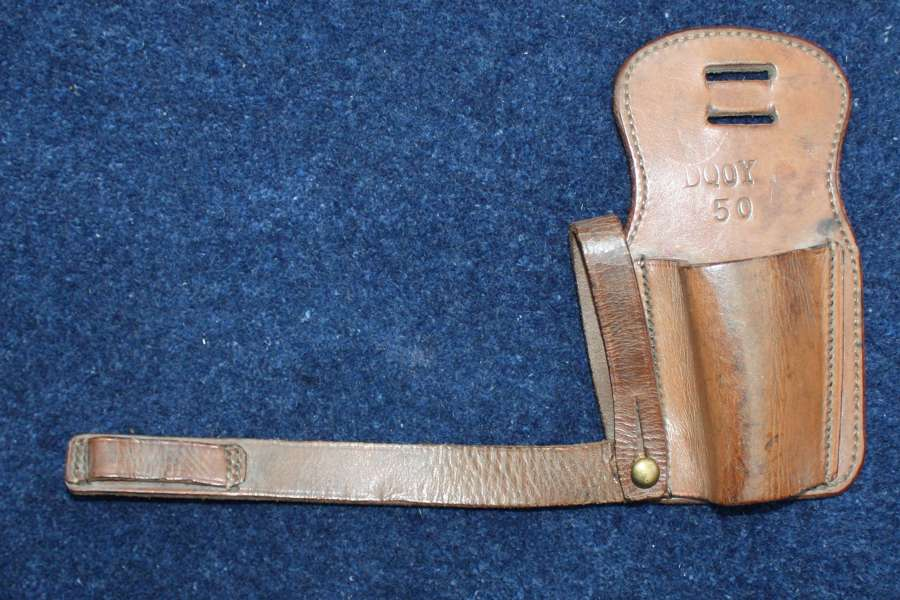 Boer War / WW1 British Army leather Cavalry Sword Frog