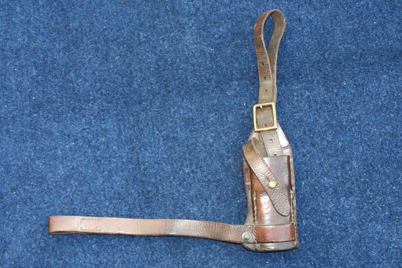 Boer War / WW1 British Cavalry Leather Sword Frog