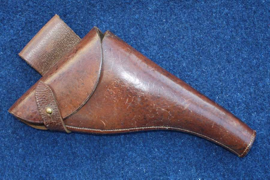 WW1 British Army Officers Webley Pistol Holster