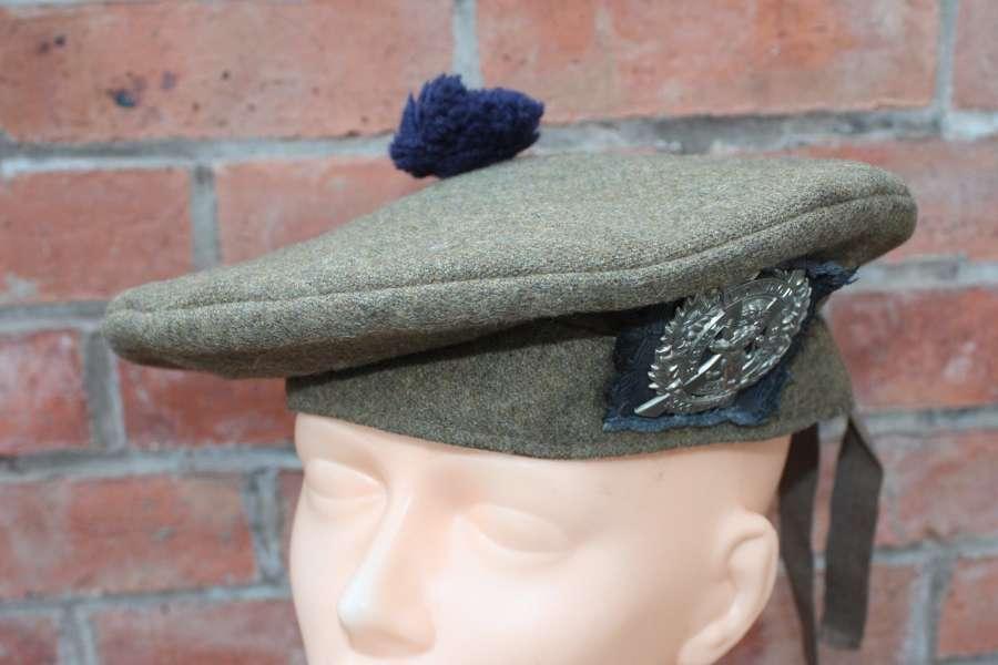 BRITISH ARMY WW1 OFFICER'S TAM O SHANTER LONDON SCOTTISH