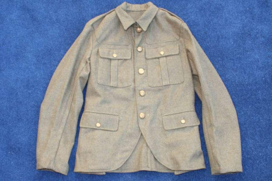 SCOTTISH POST WW1 HIGHLAND PATTERN SERVICE DRESS KHAKI TUNIC
