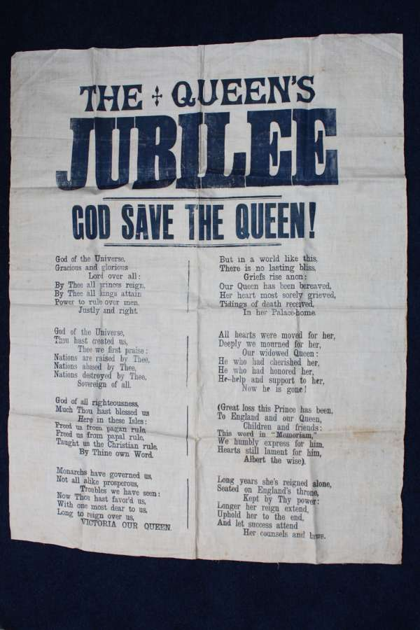Original 1897 Victorian 'God Save The Queen' National Anthem Lyrics