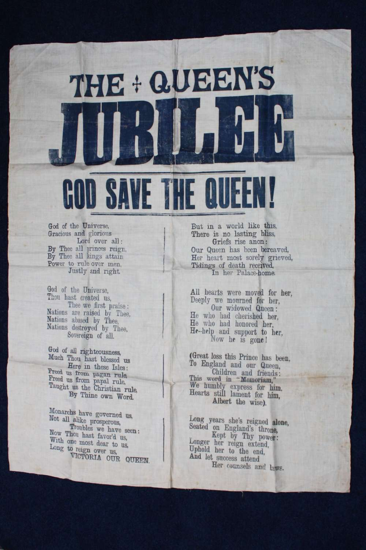 Original 1897 Victorian 'God Save The Queen' National Anthem Lyrics