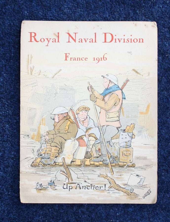 WW1 British Army 63rd RND Division Christmas Card 1916.