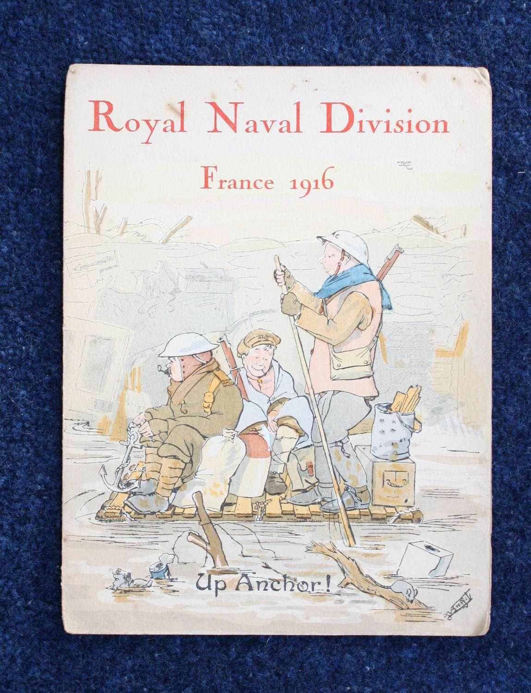 WW1 British Army 63rd RND Division Christmas Card 1916.
