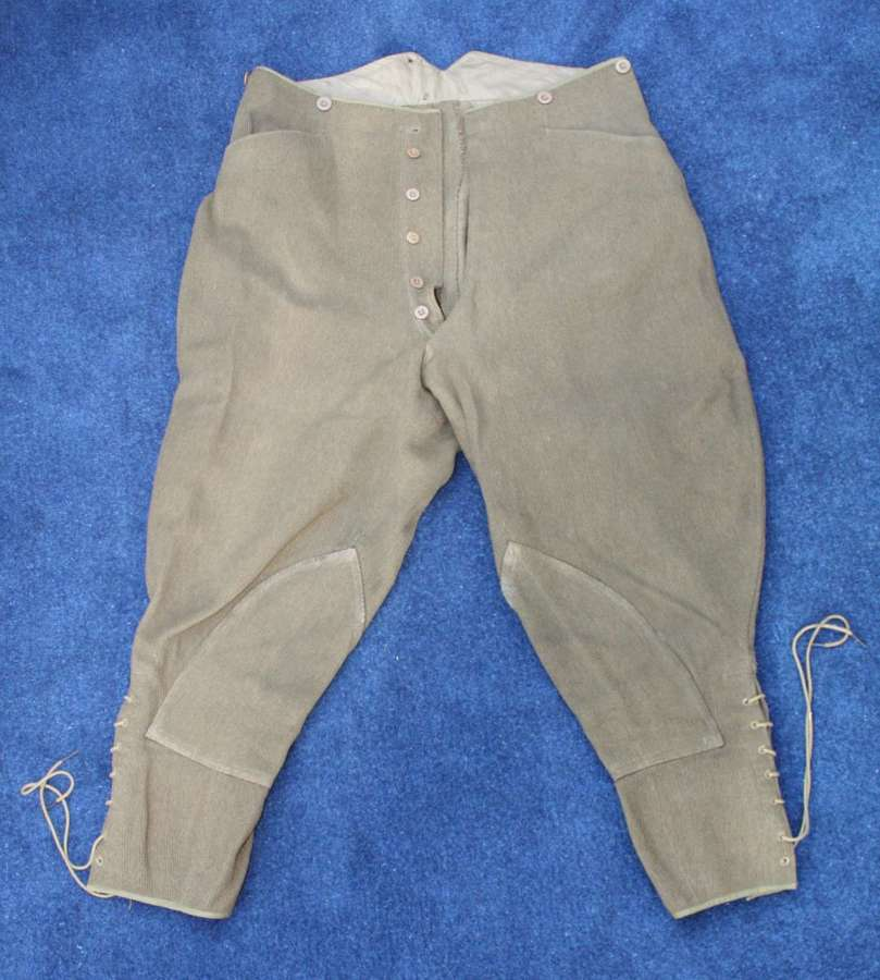 WW1 BRITISH ARMY OFFICERS /OTHER RANKS SERVICE DRESS BREECHES