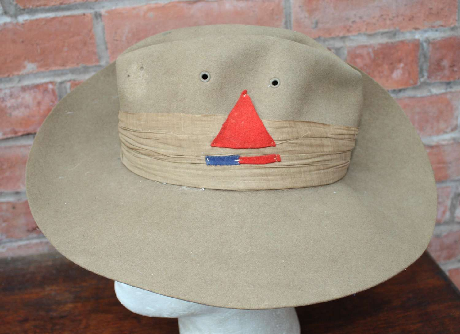 1942 British made Slouch Hat as worn in India & Burma