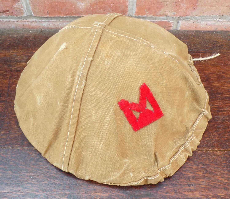 WW1 British Brodie Steel Helmet 61st South Midlands Division Cover