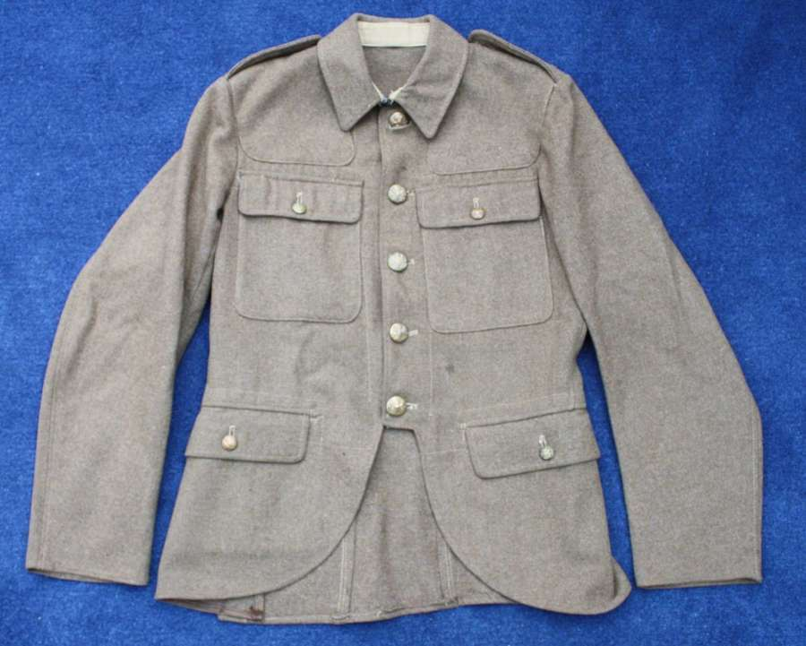 SCOTTISH 1922 PATTERN SERVICE DRESS KHAKI HIGHLAND TUNIC / DOUBLET