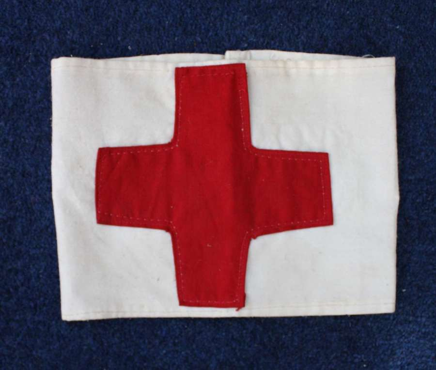 1914 dated Red Cross Royal Army Medical Corps Armband