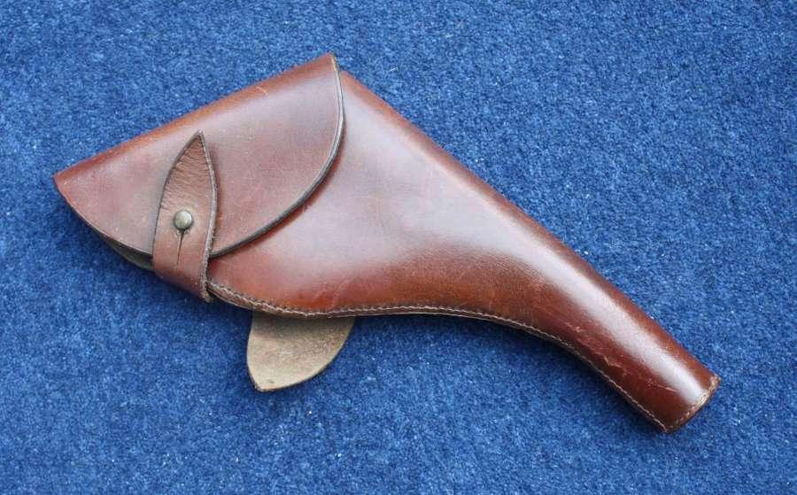 WW1 / WW2 British Army Webley Leather Holster