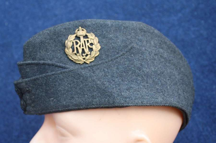 WW2 RAF Royal Air Force Side Cap.