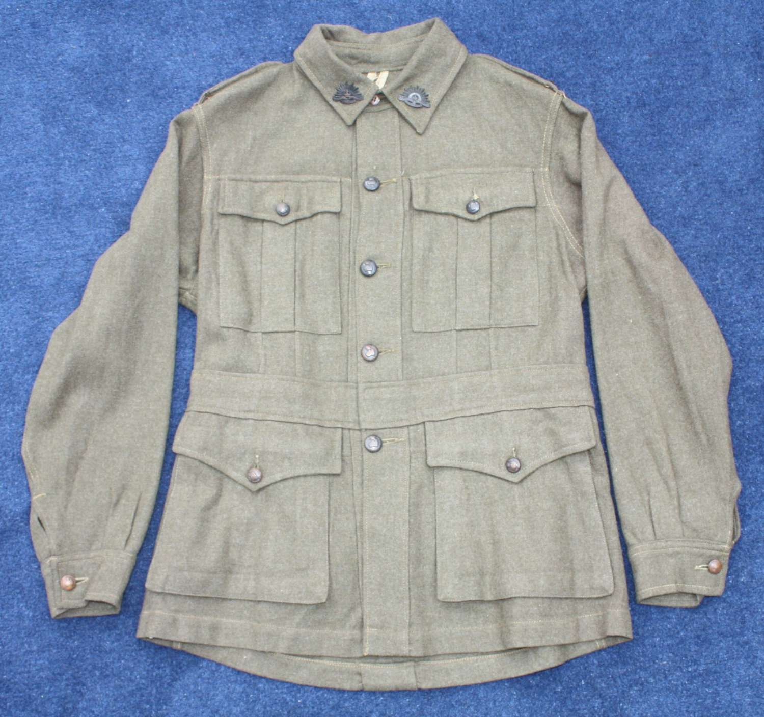 WW2 Pattern Australian Tunic & Trousers 1942 Dated Excellent condition
