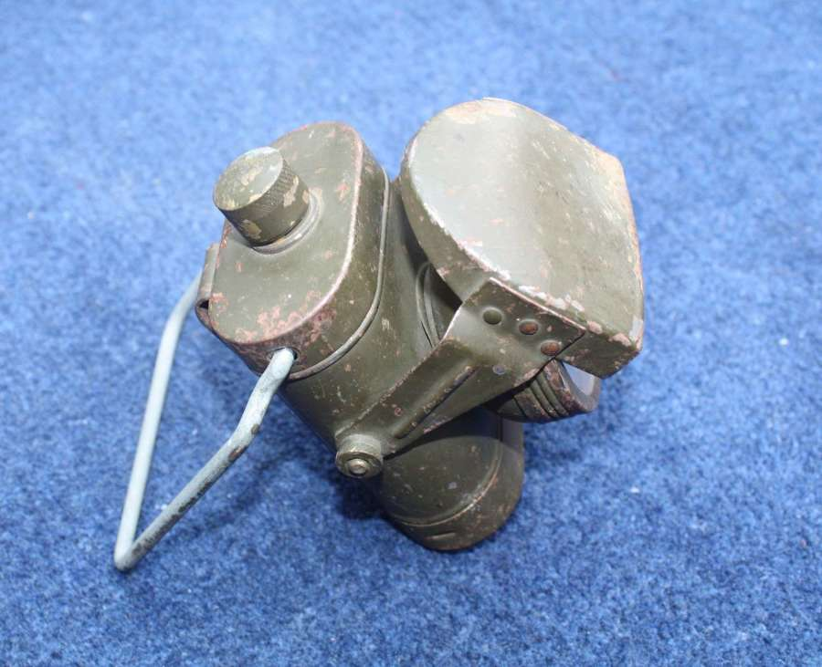 WW2 British Army Khaki Green Electric Lamp. R.C. Ltd.