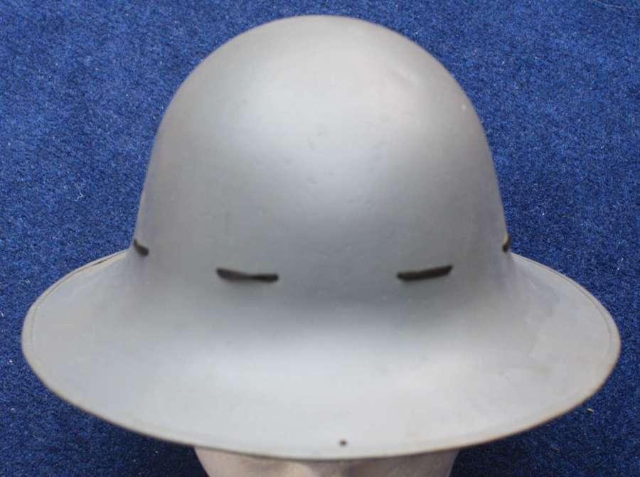 1941 Dated WW2 British Fire Watchers Zuckerman Helmet