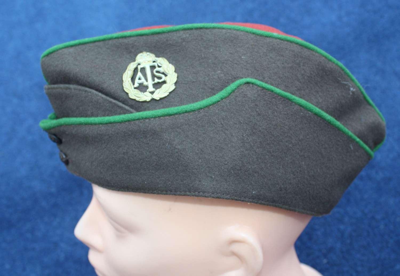 WW2 Womens O/R Army Territorial Service ATS Side Cap
