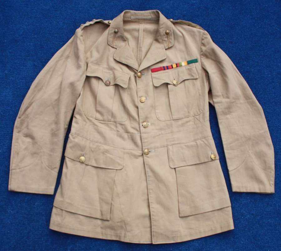 WW1 Colonel Ox & Bucks Officer's Khaki Drill Tunic