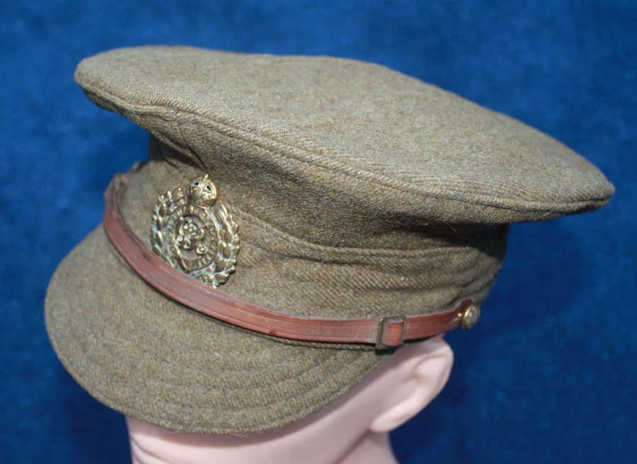 WW1 ROYAL ENGINEERS BRITISH OTHER RANKS WOOL TRENCH CAP